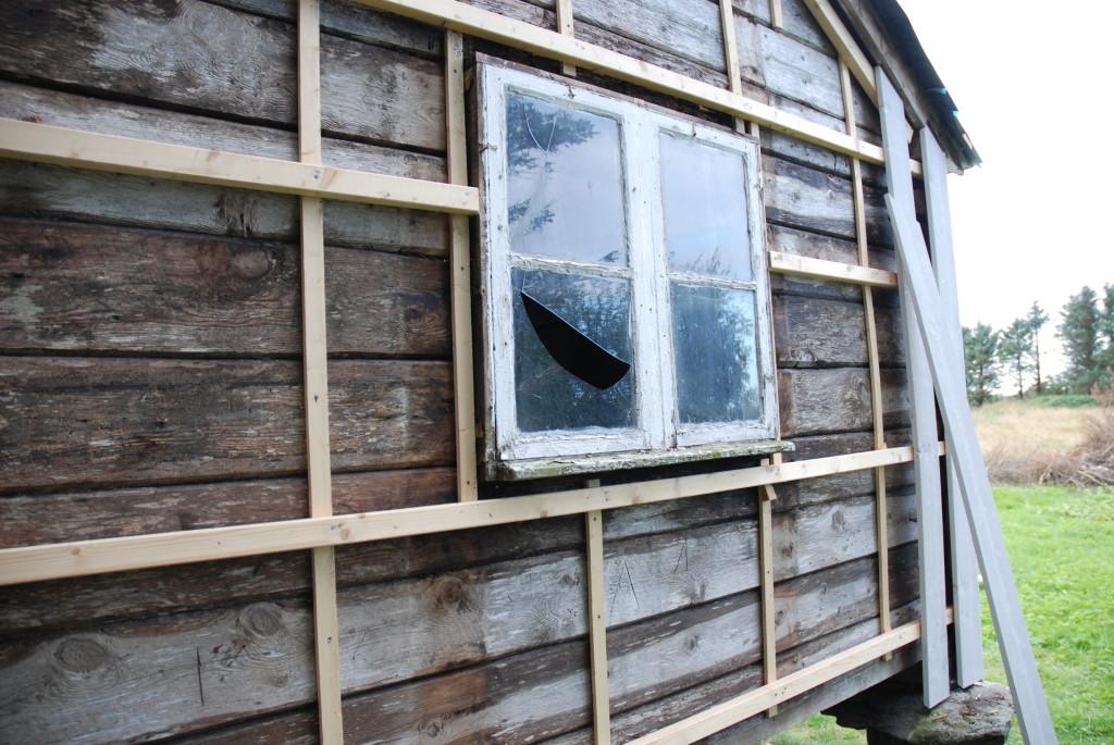 Gamle vinduet til Plankefrue