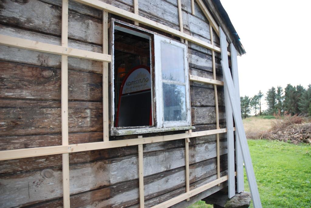 Et vindu igjen på Stabburet