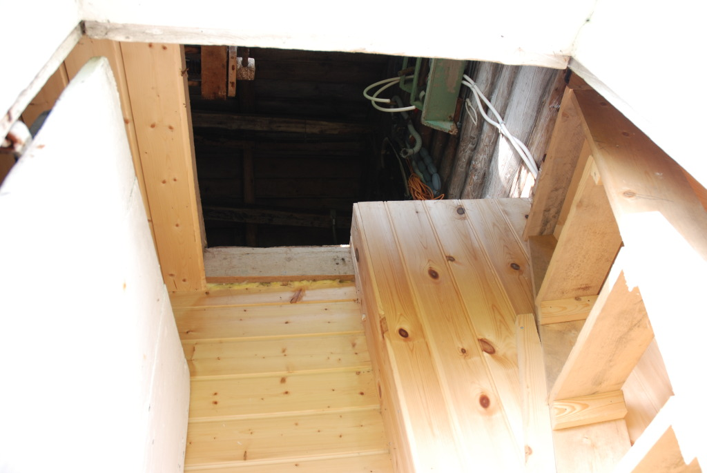 På loftet til plankefrue