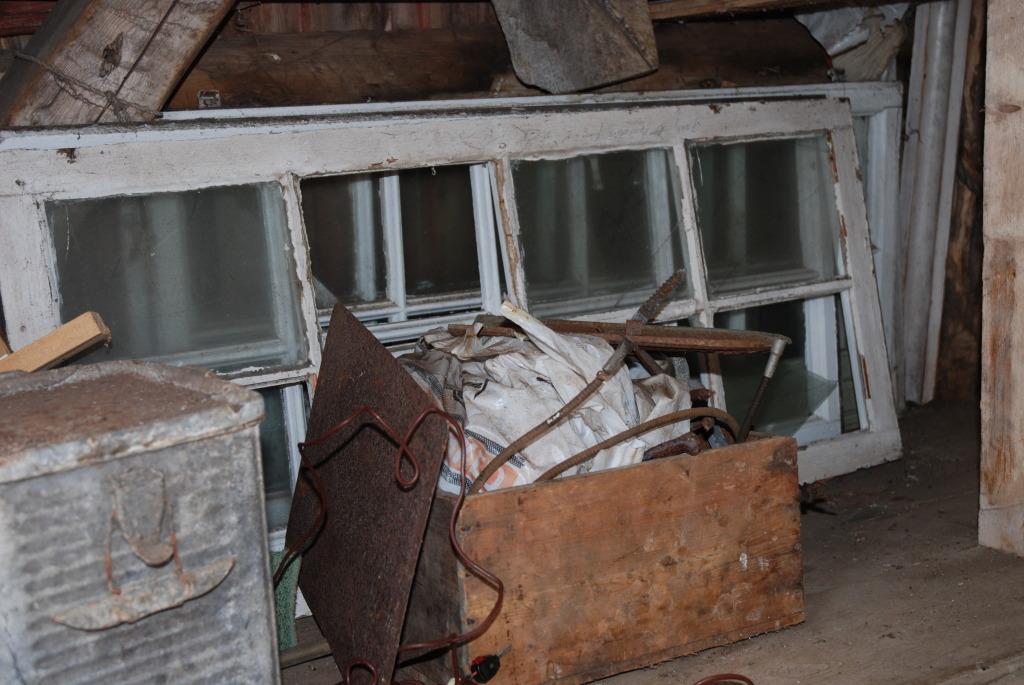 Gode gamle vinduer hos Plankefrue