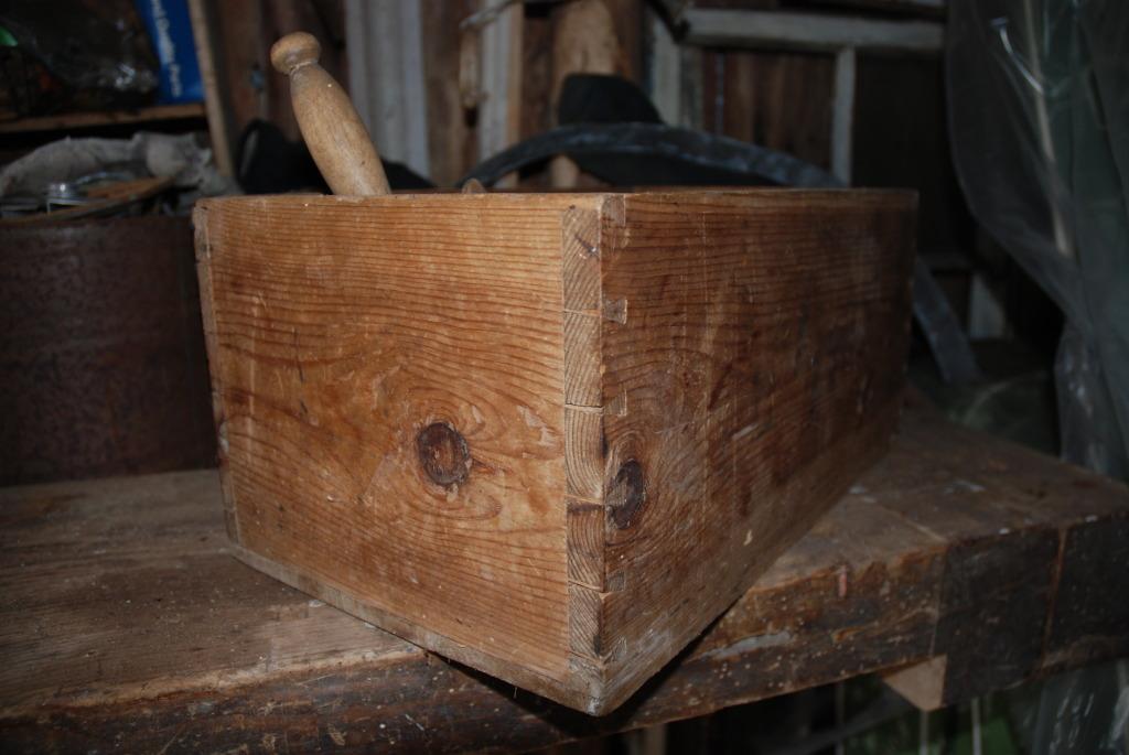 Enda ei gammel kasse hos Plankefrue