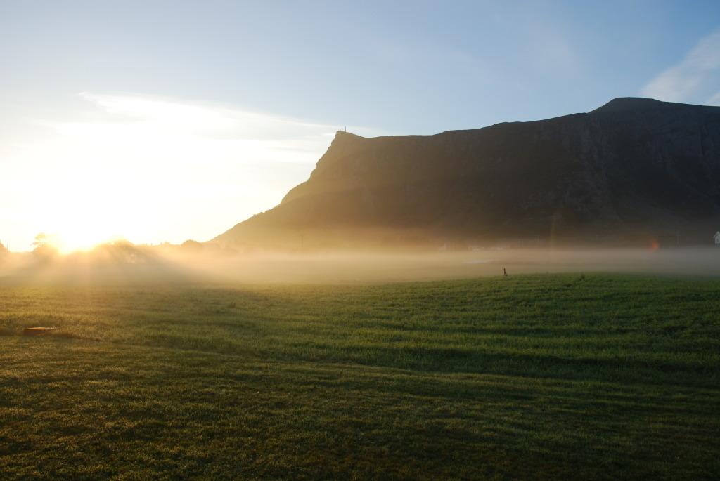 Soloppgang på Jelå