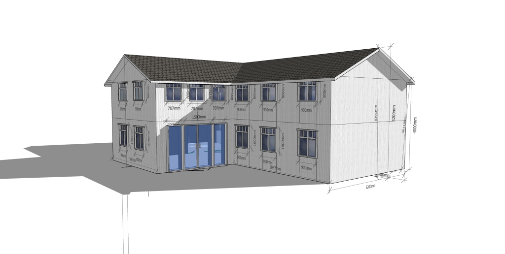 Plankefrues fasade terrasse
