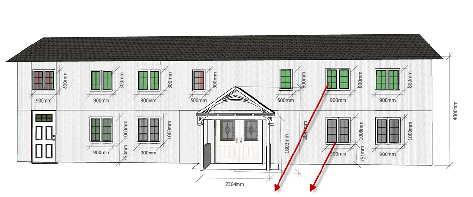 plankefrues hus forfra