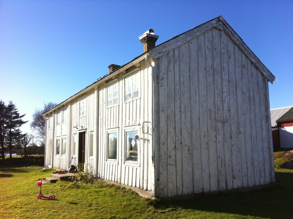 Førbilde av Plankefrues hus