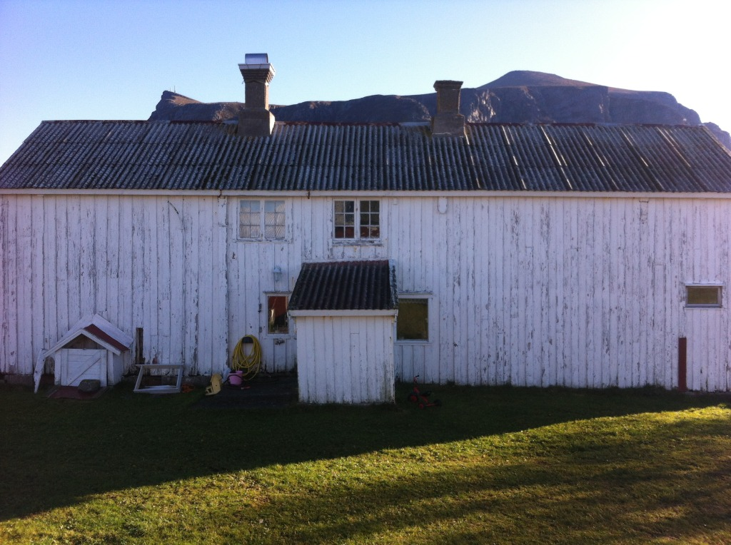 Førbilde av huset til Plankefrue