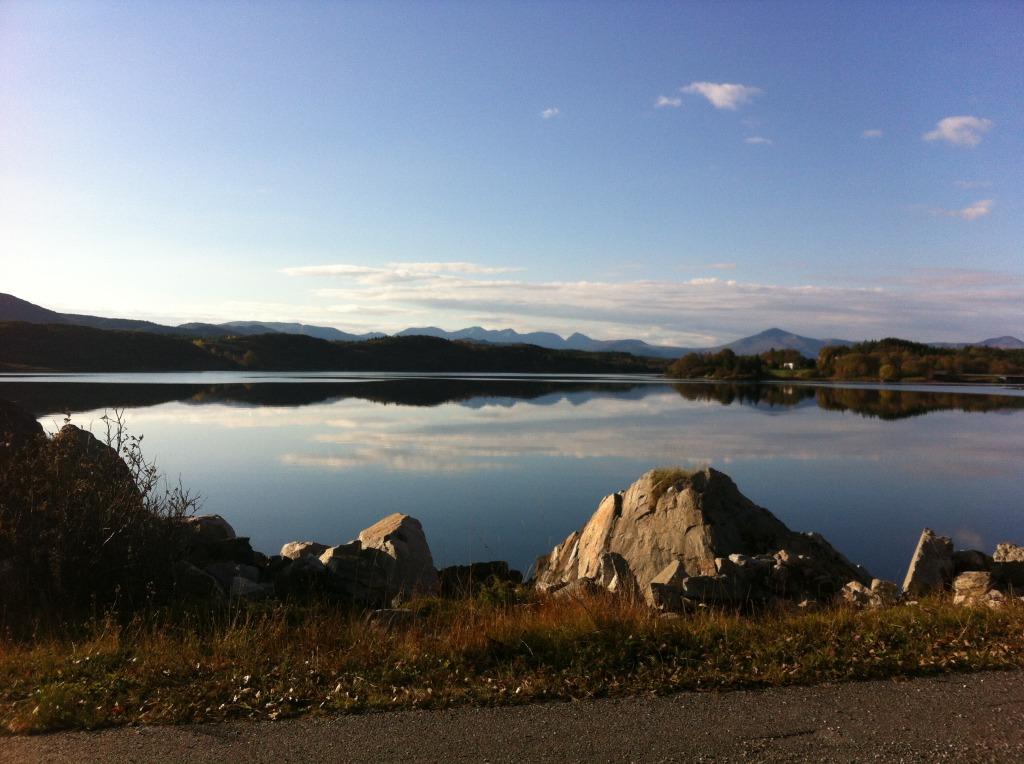 Utsikt på Averøya