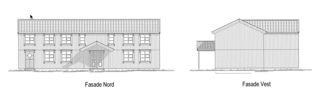 plankefrue fasade nord