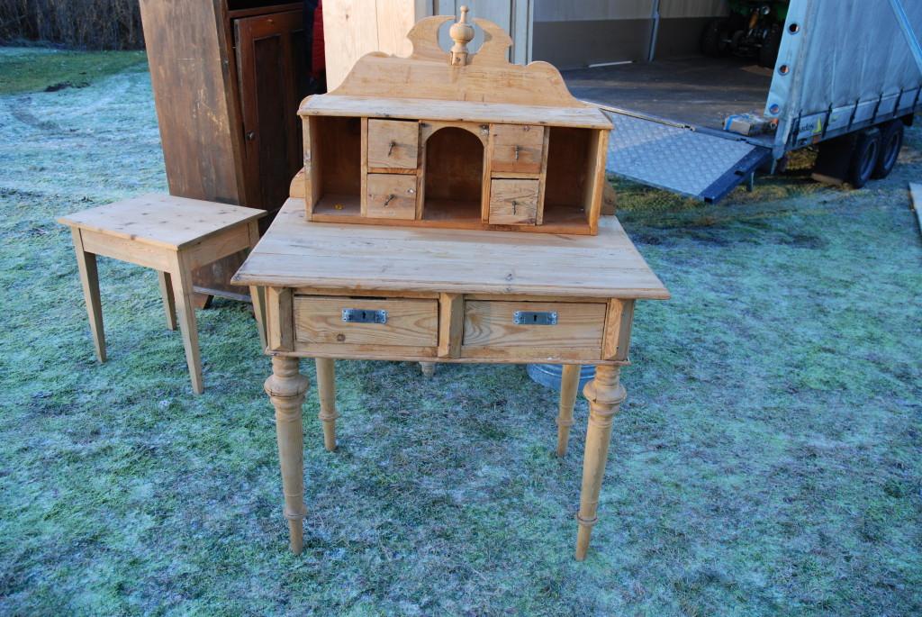Skrivebordet til plankefrue
