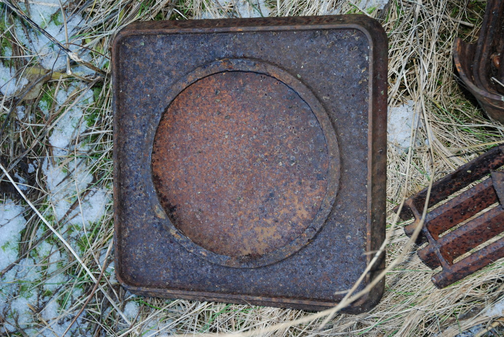gammel ovn hos plankefrue