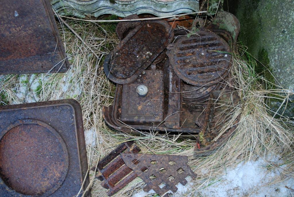 gamle ovnsdeler hos Plankefrue